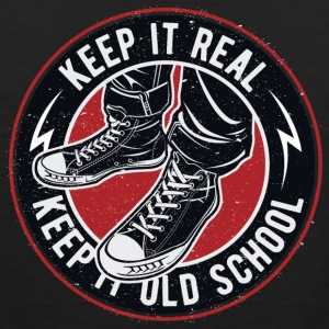Keep It Real Keep It Old School Vintage - Men's Premium Tank Top