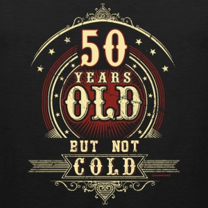 Geburtstag 50 old but not cold RAHMENLOS®