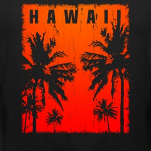 Hawaii Vintage - Mannen Premium tank top