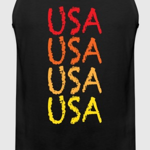 USA - Men's Premium Tank Top