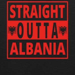 Straight outta ALBANIA Albania - Men's Premium Tank Top