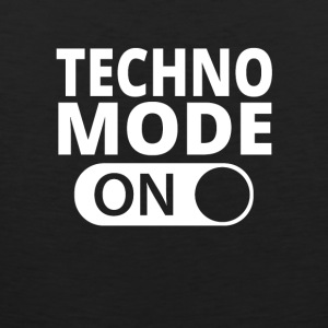 MODE ON TECHNO - Mannen Premium tank top