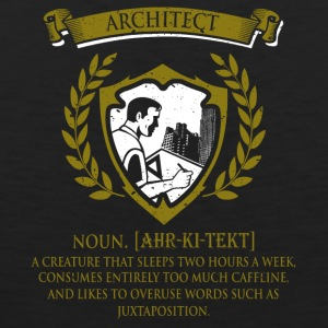 architect - Mannen Premium tank top