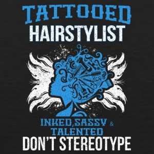 Tattooed hair - Men's Premium Tank Top