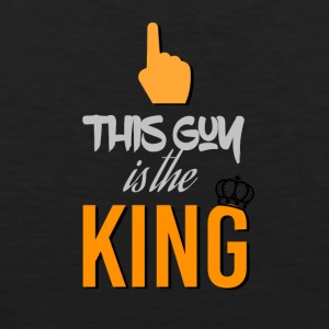 This guy is the king - Men's Premium Tank Top