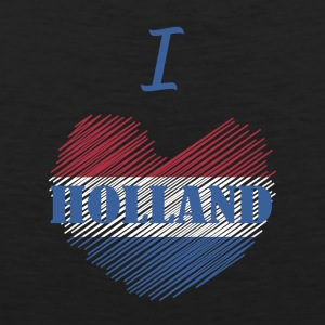 I love Holland I love Dutch - Men's Premium Tank Top