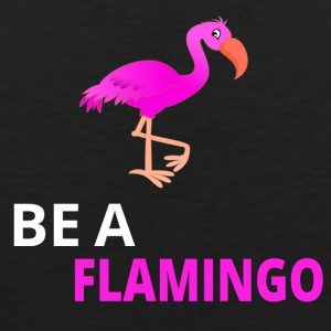 Be A Flamingo - Männer Premium Tank Top