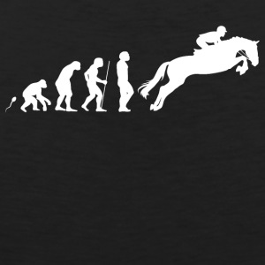 Jumping horseback riding - Men's Premium Tank Top