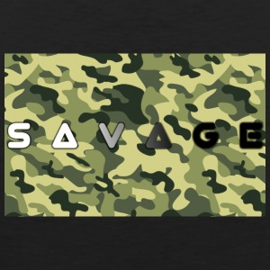 Savage camo premium - Men's Premium Tank Top