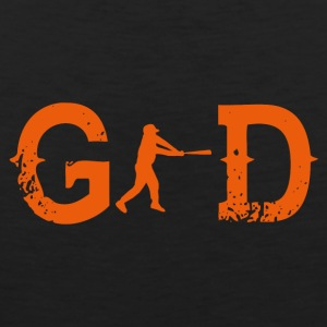 Legend god god baseball homerun base 2 - Men's Premium Tank Top
