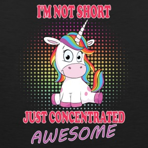 I am not short Unicorn - Men's Premium Tank Top