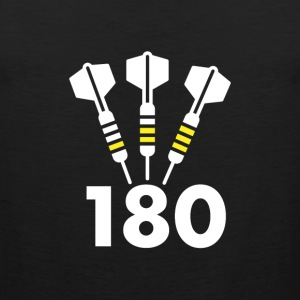 Darts: 180 - Men's Premium Tank Top