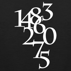 Numbers - Men's Premium Tank Top