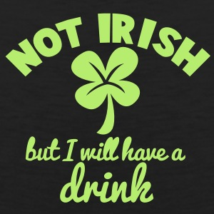 NOT IRISH but i will have a drink with a shamrock