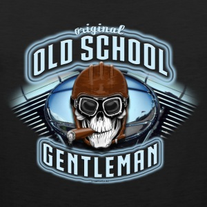 11A-09 OLD SCHOOL GENTLEMAN - Tank top męski Premium