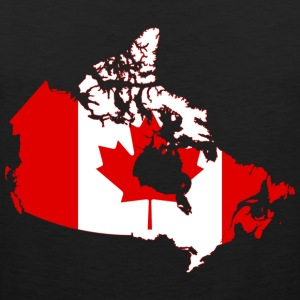 Kart over Canada - Premium singlet for menn