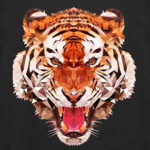 tiger low - Men's Premium Tank Top