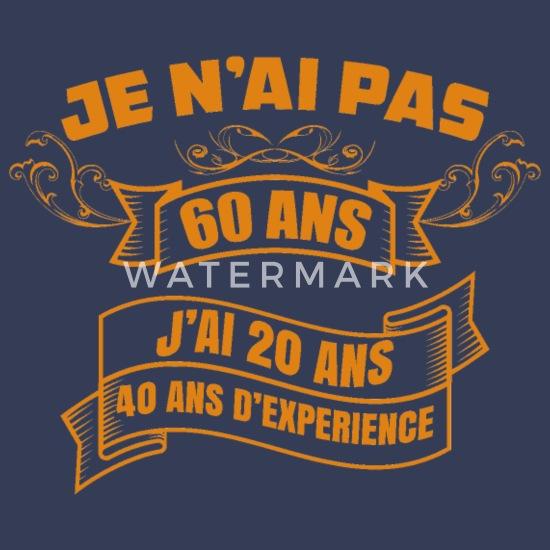 60 Ans Anniversaire Citation Anniversaire 60 Ans Debardeur Premium Homme Spreadshirt