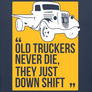Old truckers - Men's Premium Tank Top