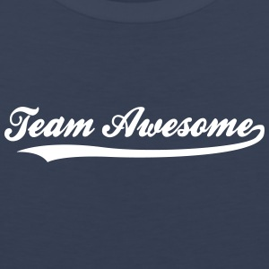 Team Awesome! - Herre Premium tanktop