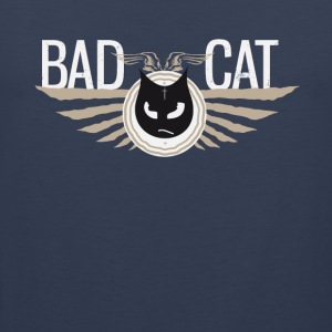 Badcat bad cat cat grim tattoostyle - Men's Premium Tank Top