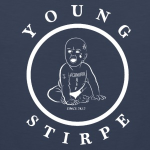 YOUNG.STIRPE - Mannen Premium tank top