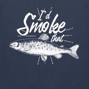 Gift for anglers the smoking - Men's Premium Tank Top