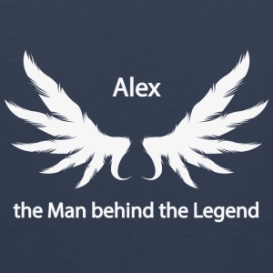 Alex the Man behind the Legend - Men's Premium Tank Top