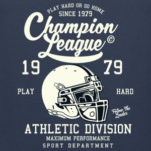 Champion League Division Athletic Baseball Jersey - Herre Premium tanktop