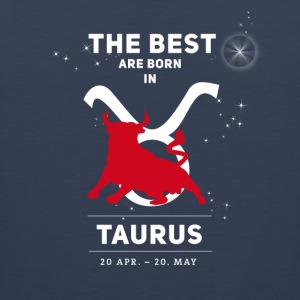 taurus bull zodiac horoscope signs astrology - Men's Premium Tank Top