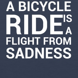 BIKE SADNESS - Men's Premium Tank Top