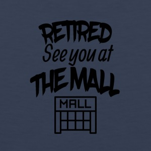 Retired lake you at the mall - Men's Premium Tank Top