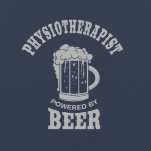 PHYSIOTHERAPIST powered by BEER - Men's Premium Tank Top
