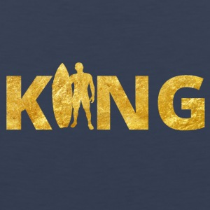 Surfer King Gold - Männer Premium Tank Top