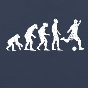 Evolution of soccer soccer ball - Men's Premium Tank Top