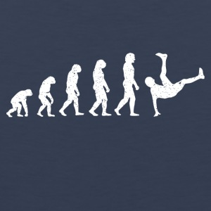 Evolution breakdance dans hiphop Hatrik DESIGN - Mannen Premium tank top