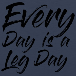 Everey Day er en dag LEG - Premium singlet for menn