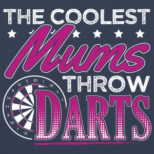 COOLEST MUMS PLAY DARTS - Men's Premium Tank Top