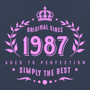 original since 1987 simply the best 30th birthday - Men's Premium Tank Top