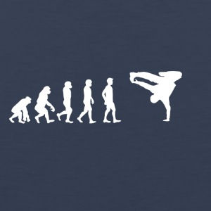 EVOLUTION breakdance bboy breakin - Mannen Premium tank top