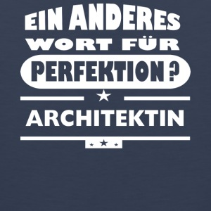 Architect Other words for perfection - Men's Premium Tank Top