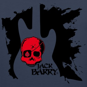 Jack Barry Skull - Premium singlet for menn