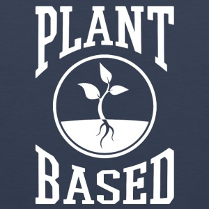 vegan t shirt plant based - Men's Premium Tank Top