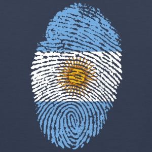 Fingerprint - Argentina - Men's Premium Tank Top