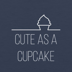 Cute as a cupcake - Mannen Premium tank top
