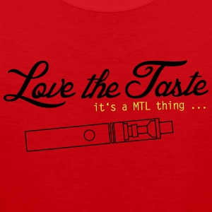 Love the Taste - MTL Motif - Men's Premium Tank Top