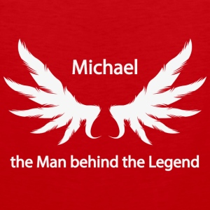 Michael the Man behind the Legend - Men's Premium Tank Top