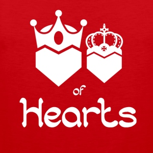 King and Queen of Hearts - Men's Premium Tank Top