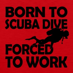 born to scuba dive - Männer Premium Tank Top