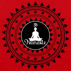 Namaste ornament - Men's Premium Tank Top